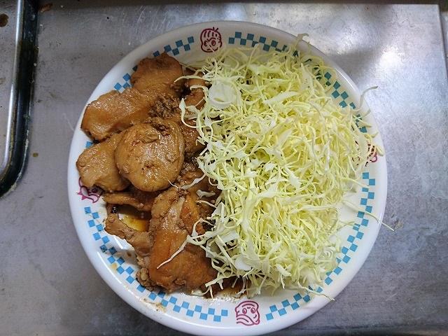 鶏胸肉の生姜焼き完成
