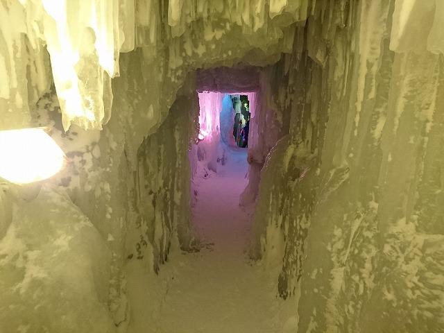 メイン氷像内部