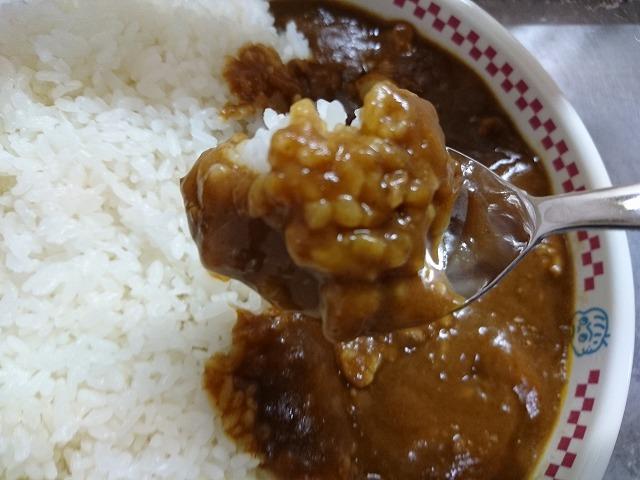 『激カレー』ご飯とルー拡大