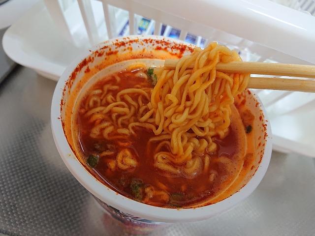 麺とスープとの絡み具合